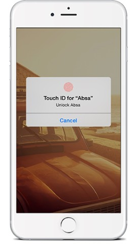 Banking App Touch ID