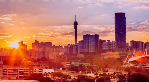 Joburg skyline - Business loan